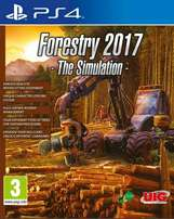 Forestry 2017 The Simulation PS4