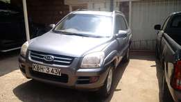 Clean KIA Sportage 2007 Local