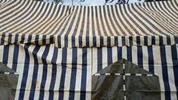 Tent and chairs for hire at 70000sh