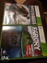 Xbox 360 games to swap