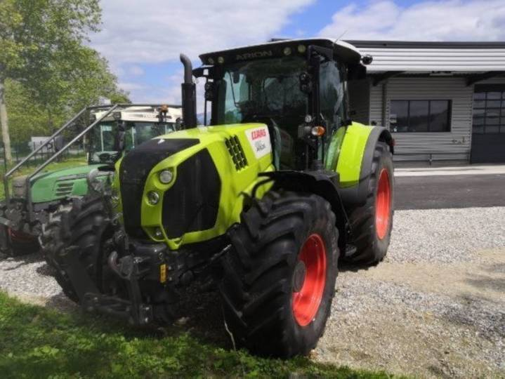 Claas arion 650 cmatic - 2017