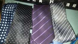 Classic ties both slim and wide
