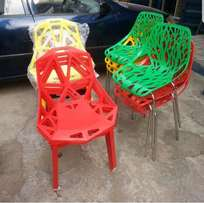 Executive Plastic chairs for beauty opens