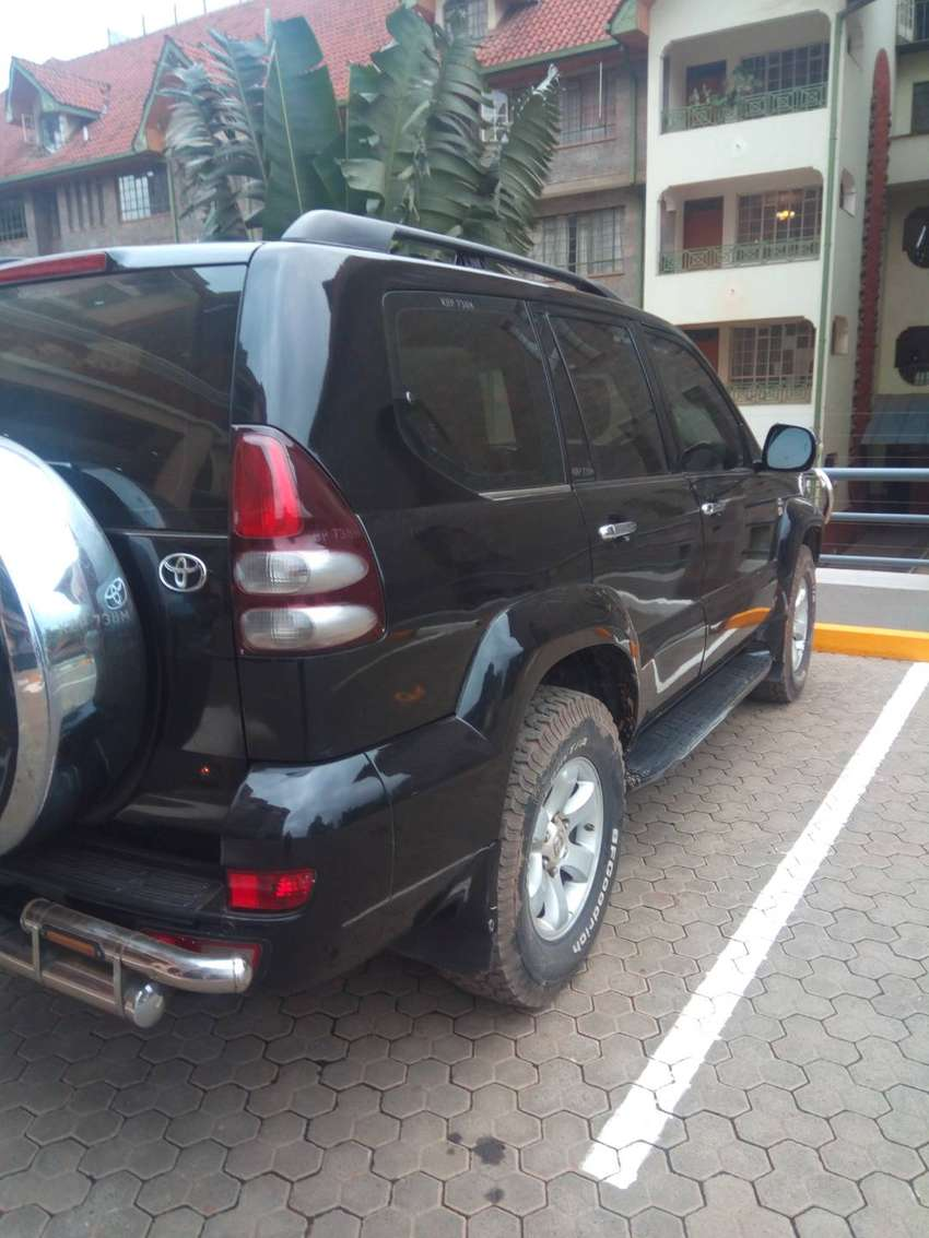 Clean Manual Toyota Landcruiser Prado 120 0