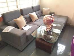 Brilliant Gray sofa order now and get in one week