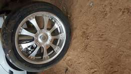 20 inch rims and tyres R6000