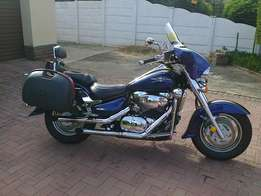 Absolutely fantastic cruiser motorcycle for sale due to medical reason
