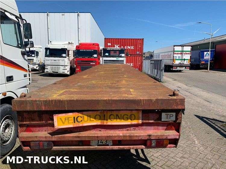 METALOVOUGA  flat trailer steel suspension - 1984 - image 3