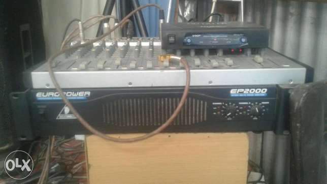 Amplifier and mixer Donholm - image 1