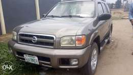 Neat & Fairly Used Nissan Pathfinder with Custom duty