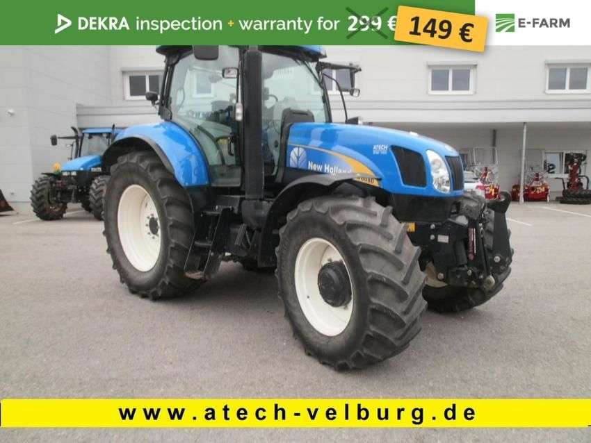New Holland t 6080 pc - 2008