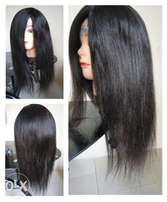 Original 18inches human hair wig for sale