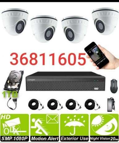 Security camera for safety also connect smartphone