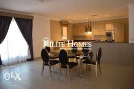 Modern stylish three bedroom apartment