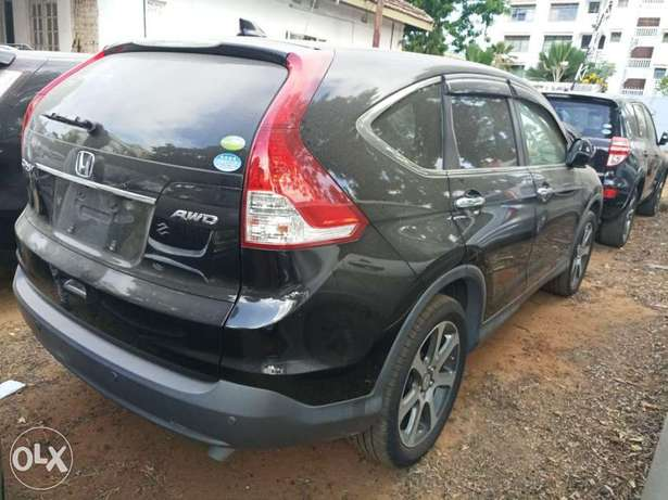 Newshape of Honda CRV Black 2012 model. KCP Mombasa Island - image 1