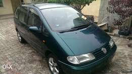 Foreign used volkswagen sharan, normal engine, AC, alloy&Lagos cleared