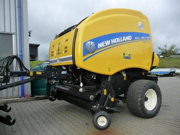 New Holland rb 180 cropcutter - 2015