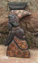 Proud African Woman Sculpture for sale