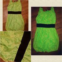 Летнее лимонное платье. Неоновое. Яркий сарафан 8c5ca9c2d6cce