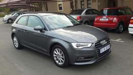 2015 Audi A3 1.4TFSI DSG 3door, 66000km selling ONLY R229000