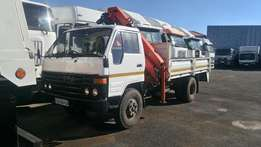 Isuzu 4T Crane Truck Available