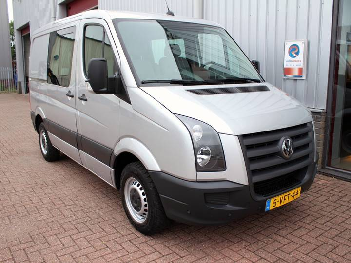 Volkswagen Crafter 2.5 TDI L1H1 DC Clima/Cruise/Auto 7Pers. - 2010