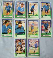 Signed Rugby Cards