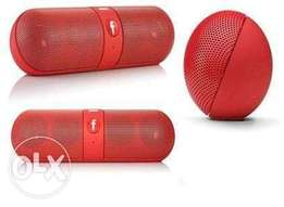 Universal Wireless Bluetooth Speaker With Fm Mp3 Features - Multicolor