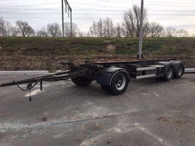 Van Hool Oversleeper container transport aanhangwagen 7mtr. container - 2000