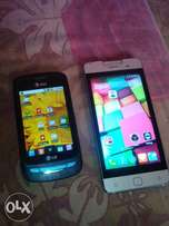 two android Phones at gh150