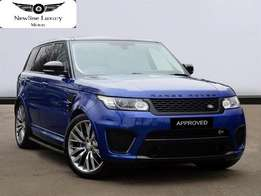 2015 Range Sport Supercharged SVR(Special Vehicle )0-100 in 4.5seconds