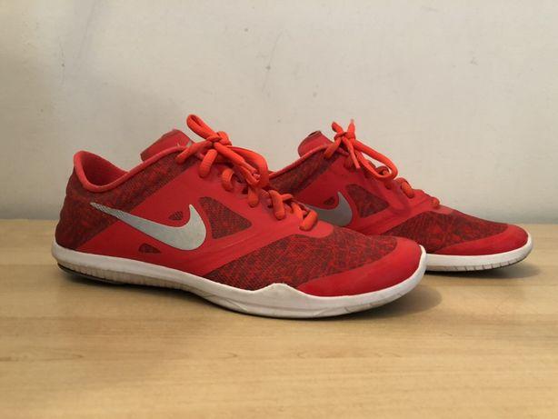 Buty Nike damskie czerwone używane 37.5 23.5 cm stan idealny