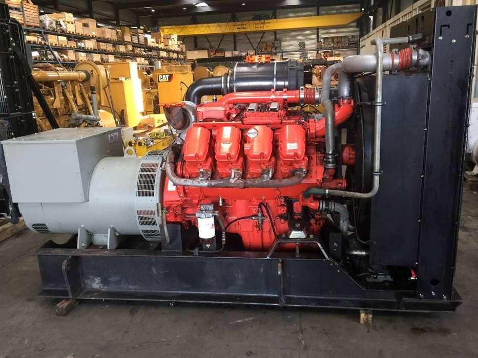 Scania DS1643A02P - Generator Set 550 kVa - DPH 105233 - 2012