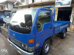 A clean tokumbo Toyota Dyna for sale at a reasonable price.