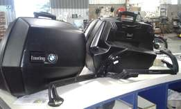 BMW SIDE PANNIERS + TOP BOX + TANK Bag - Good condition