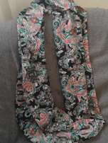 Infinity Scarf - With Floral Print
