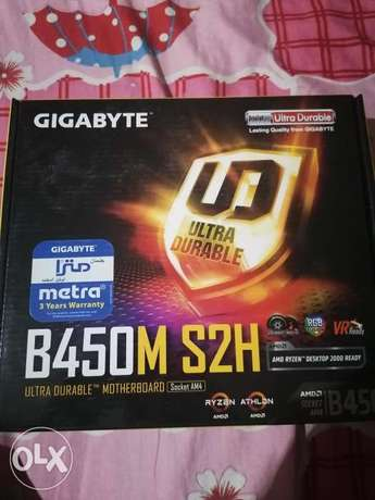Motherboard : b450m s2h