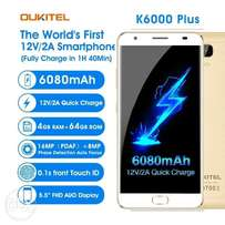 New OUKITEL k6000 plus 4GB + 64 GB 6080mAh battery