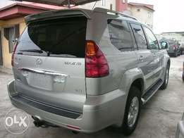Clean neat Lexus gx470 silver for sale