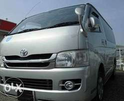 HIACE Toyota 2009 Diesel 3000cc Hire Purchase terms