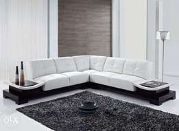 luxurious l shaped sofa set