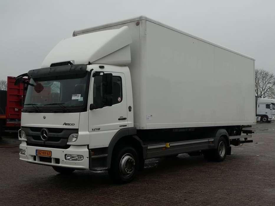 Mercedes-Benz ATEGO 1218 airco bdf+box+lift - 2011