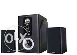 ampex subwoofer new with FM, bluetooth ,usb at 3000