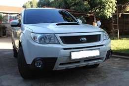 Subaru Forester Turbo Automatic XT Model.