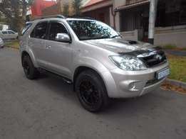 Immacualate condition 2008 Toyota Fortuner 3.0 D4D