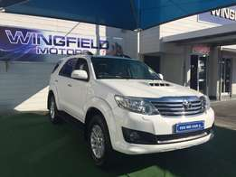 2012 Toyota Fortuner 3.0D-4D R/B Automatic