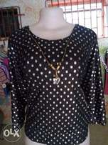 Glittering Dotted Top