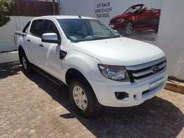 2013 Ford Ranger 2.2 D/Cab XLS 4x2 with only 45 000km for R 279 995