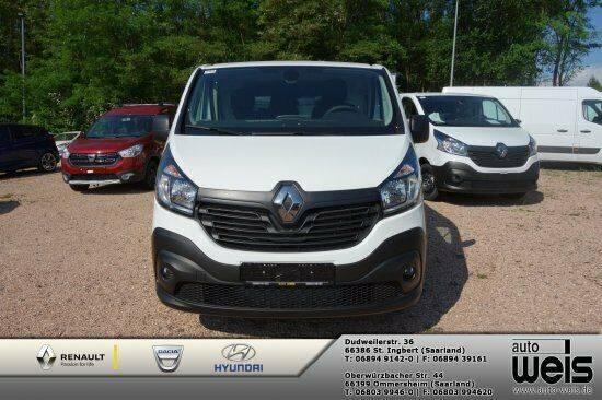 Renault Trafic L1H1 dci 120 EU 6 3,0t Komfort Navi*Klim - 2018