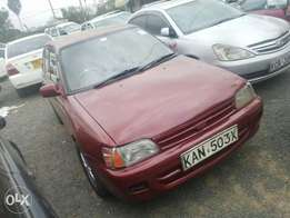 Toyota Starlet manual transmission, clean condition. Buy and drive